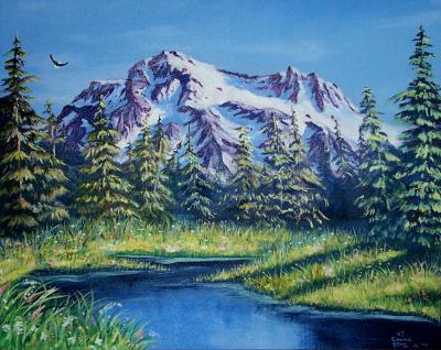 Mt. Shuksan - by Connie L. Stone